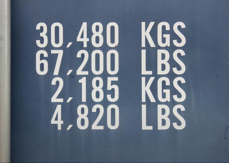 Tare Weight